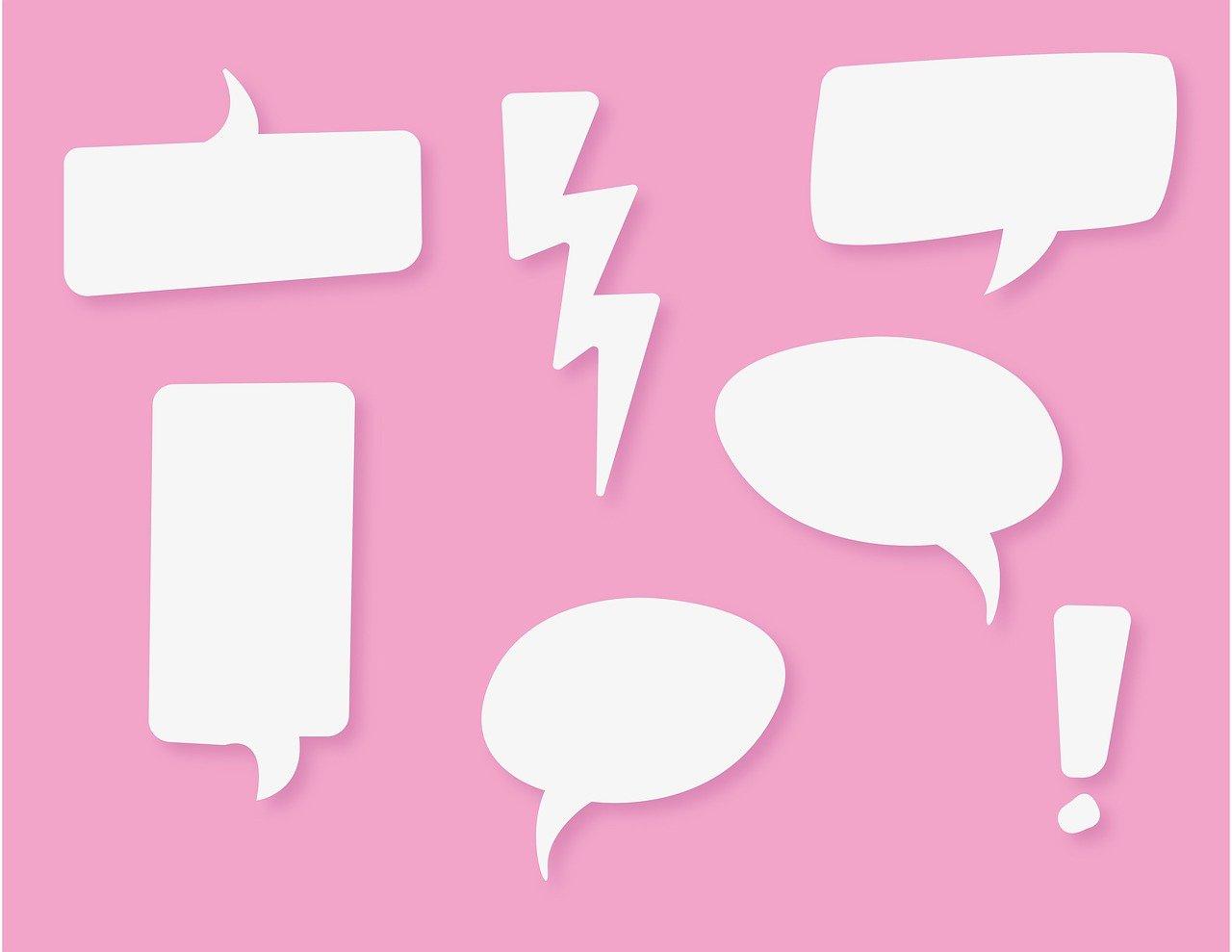 Speech Balloon Flash Talk Blank - Alexandra_Koch / Pixabay